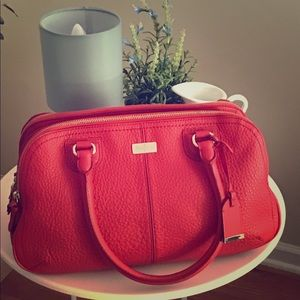 Cole Haan Village Satchel in Cherry Tomato